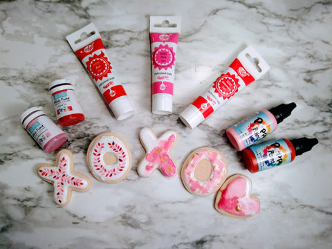 Valentine's Day Edible Paints