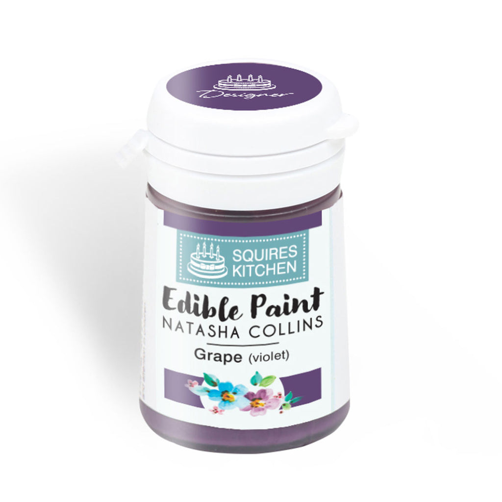 Grape (Violet) Squire's Kitchen Edible Paint - By Natasha Collins