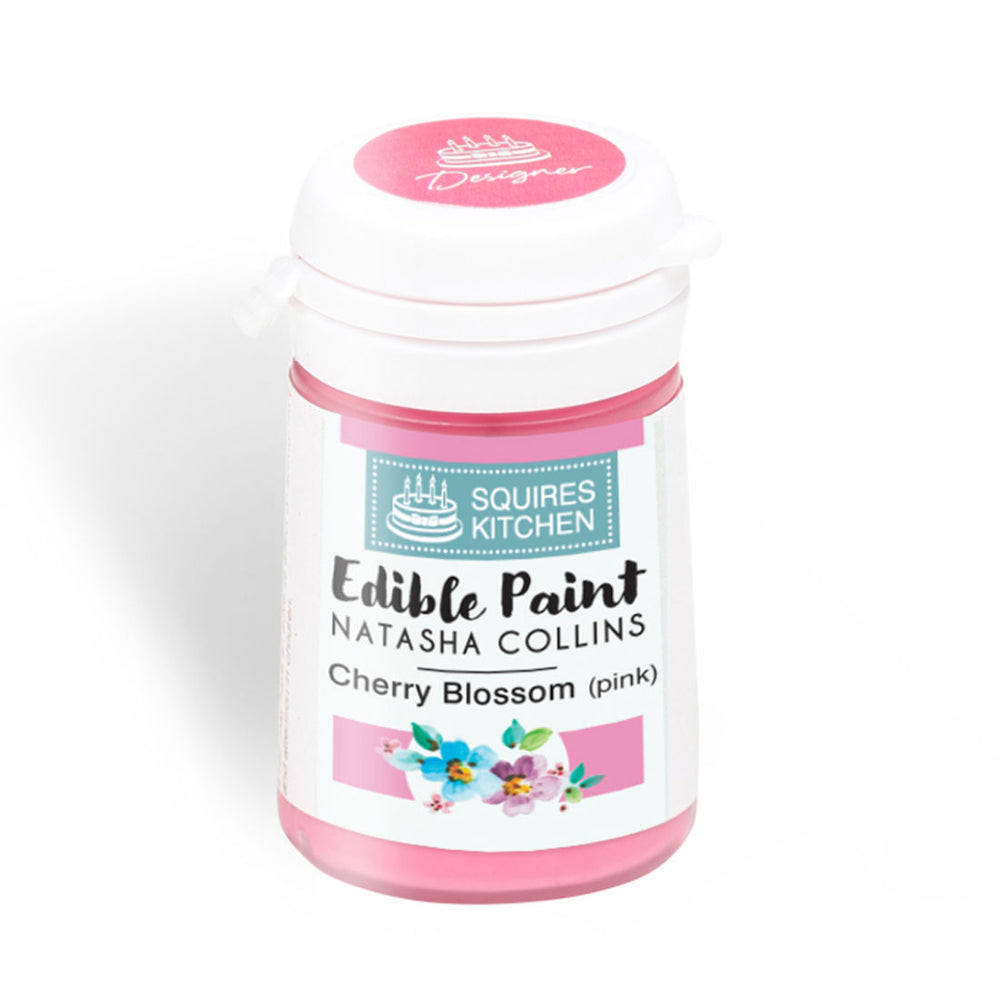 Cherry Blossom (Pink) Squire's Kitchen Edible Paint - By Natasha Collins