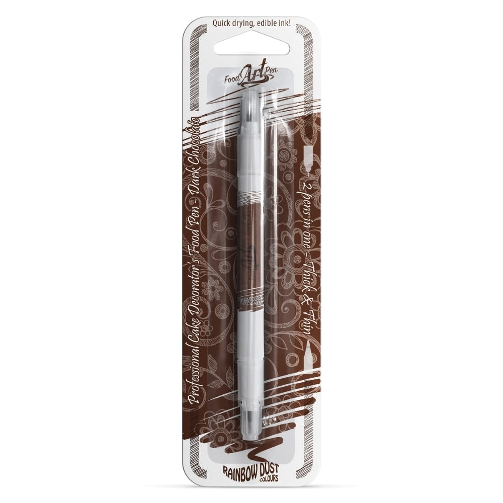 Dark Chocolate Rainbow Dust Food Art Pen