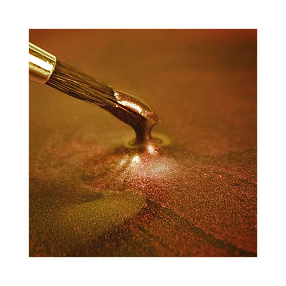 Dark Gold Metallic Paint - Rainbow Dust