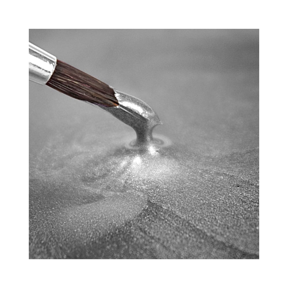 Light Silver Metallic Paint - Rainbow Dust