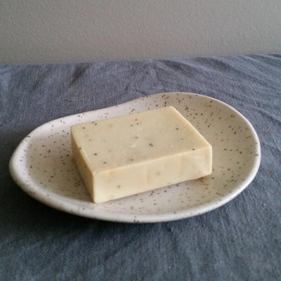 Small oval dish - Speckled