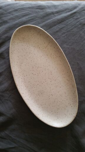 Oval Platter - Speckled