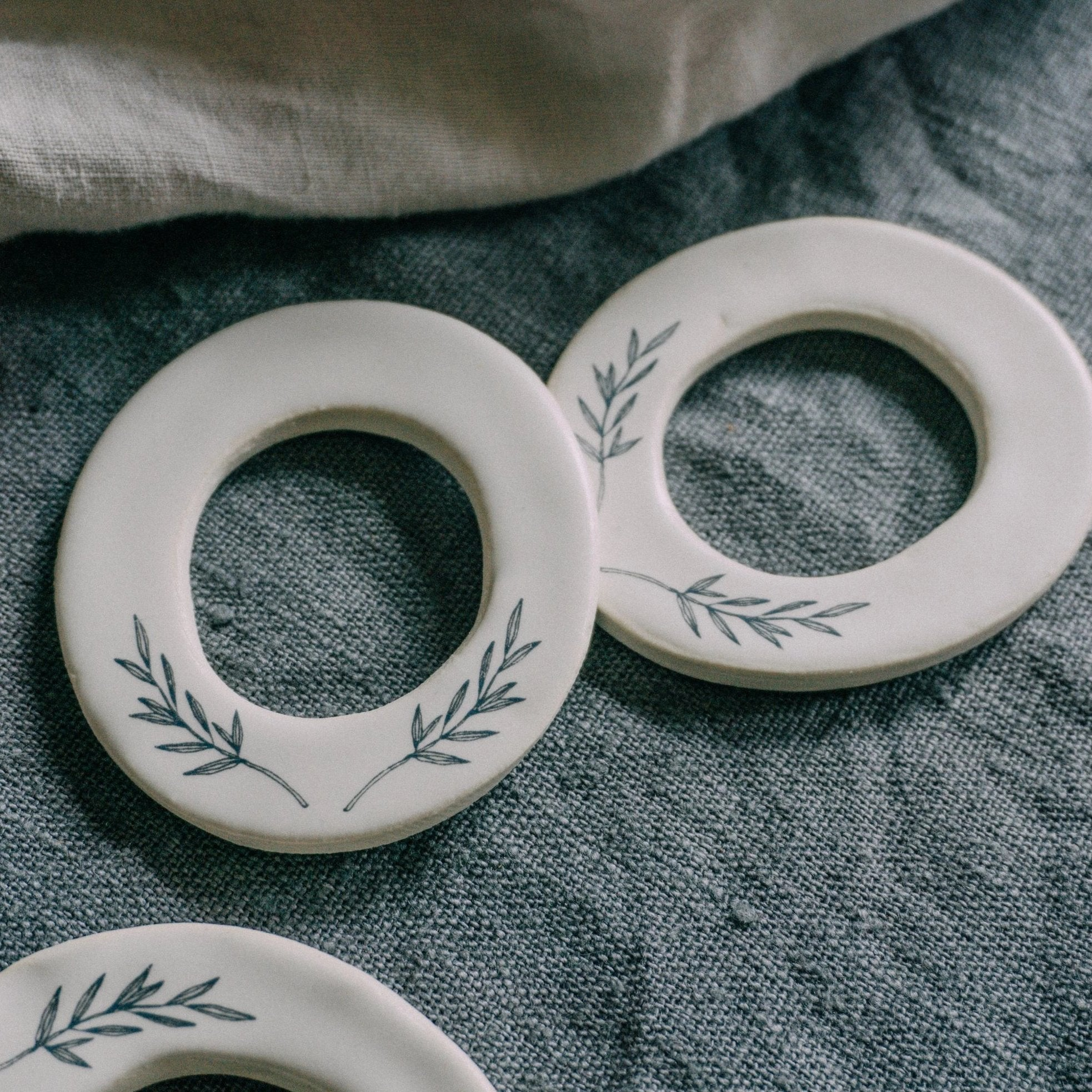 Circular 'Wreath' Ornaments - Winter 2019 Collection