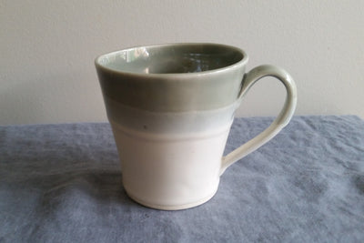 Mug in Shadow Gray Glaze by Muddy Marvels Handmade Pottery