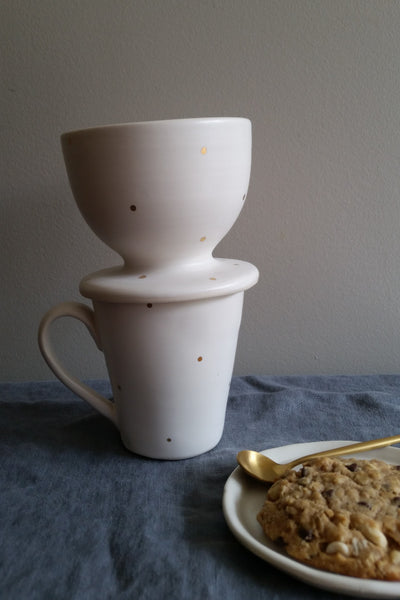 Pour Over - 18k Gold Dot