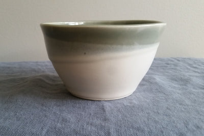 Small Bowl in Shadow Gray Glaze by Muddy Marvels Handmade Pottery Squamish