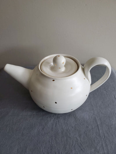 Teapot - 18k Gold Dot