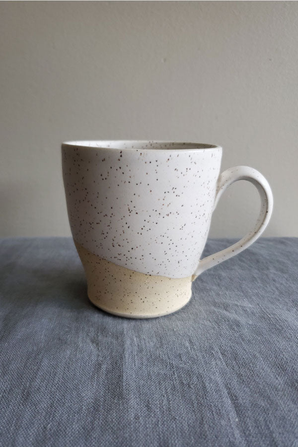 Large Round Speckled Mug