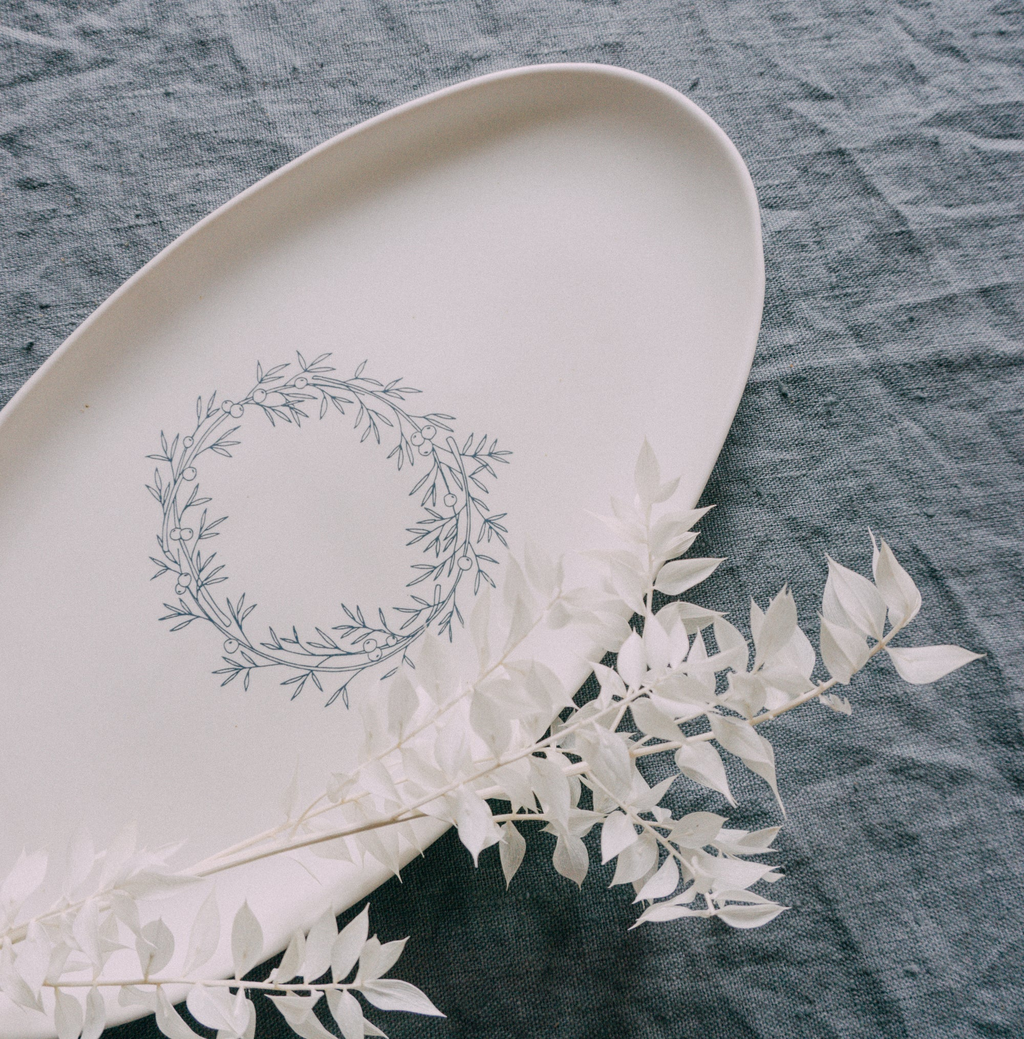 Oval Platter - Winter 2019 Collection