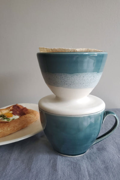 Pour over - Peacock