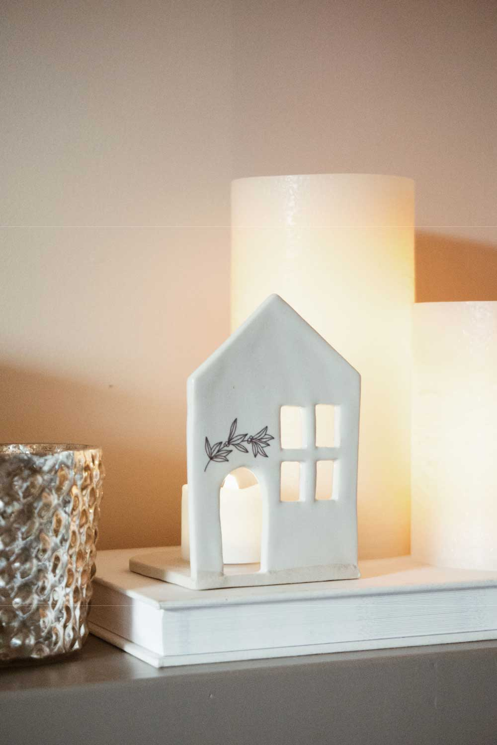 Tea Light House - Small - MMPxNN