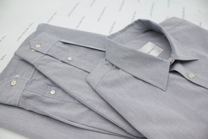 AUZA sustainable cotton shirt for men