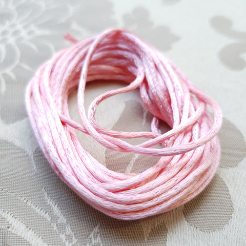 Satin Cord, Pink, 2.0mm (5m)