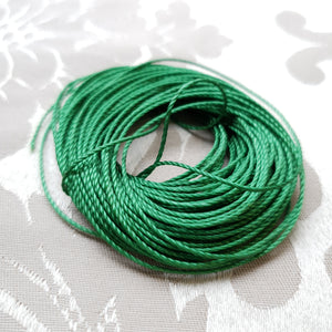 S-Lon Macrame, Green, Tex400, 0.9mm (10m)