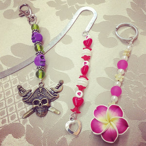 Bookmark, Bag-Tag & Key Chain - Up to 10 Kids (6yrs+)