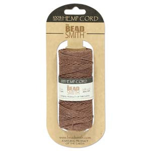 1.0mm Brown Hemp - 10m or 60m Roll