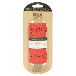1.0mm Red Hemp - 10m
