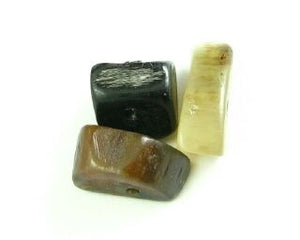 Buffalo Horn, Small chip, 6-15mm (10 pcs)