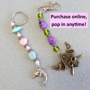 Key Chain or Bag Tag Workshop (1 item) | 4yrs+ | 20mins | Pop in anytime