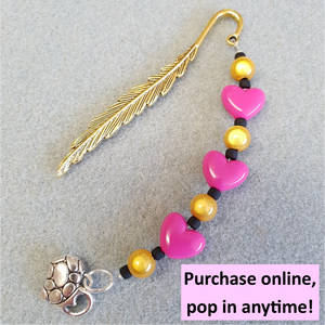 Bookmark Workshop (1 item) | 4yrs+ | 20mins | Pop in anytime