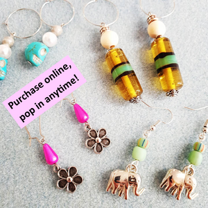 Earring Workshop (2 pairs) | 7yrs+ | 20mins | Pop in anytime