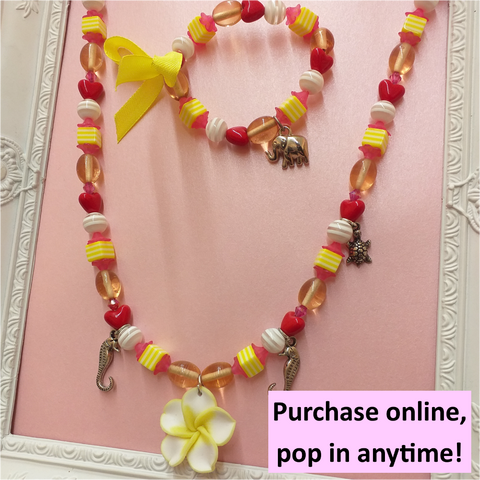 Necklace & bracelet workshop | 5yrs+ | 1hr | Pop in anytime