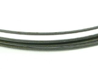 Memory Wire, Neck, Dull Silver, 90mm Dia (10 Loops)