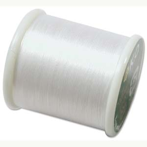 K O Thread White (330dtex, Size B) - 50m Roll