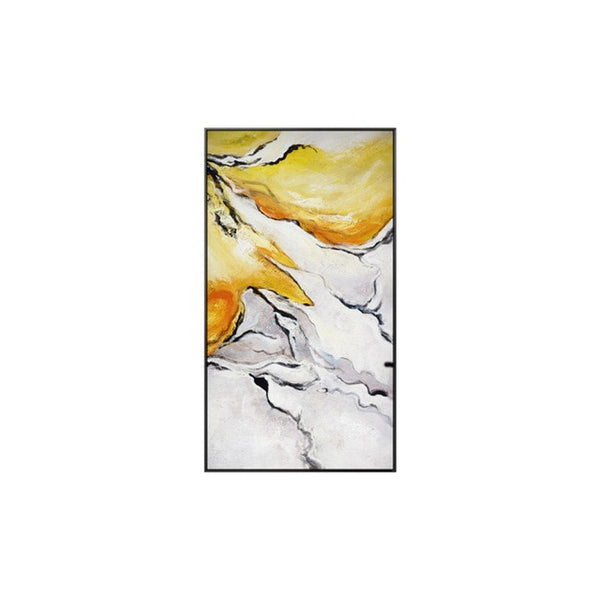 Gold Abstract Art Print