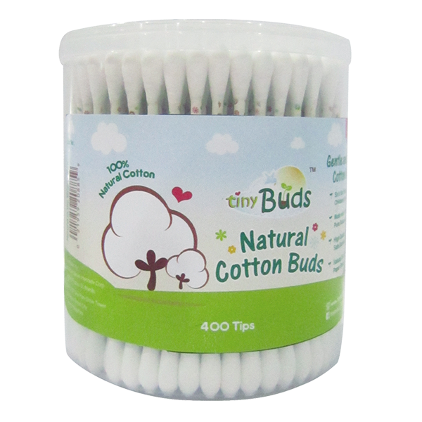 New! Natural Cotton Buds (400's)