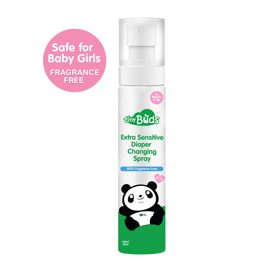 Extra Sensitive Natural Diaper Changing Spray