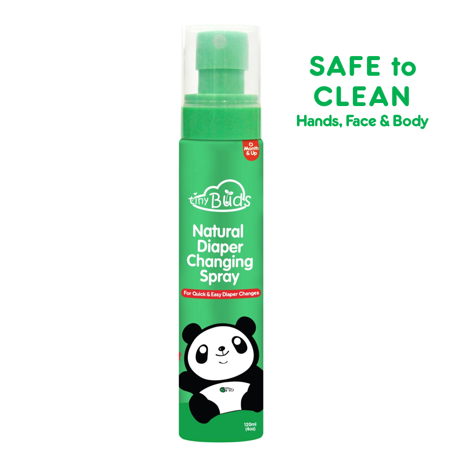 Quick & Easy Natural Diaper Changing Spray
