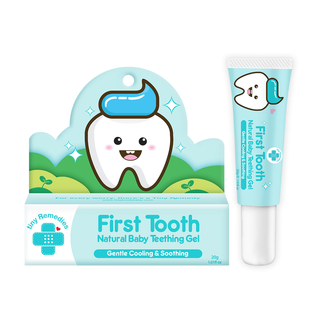 First Tooth! Natural Teething Gel