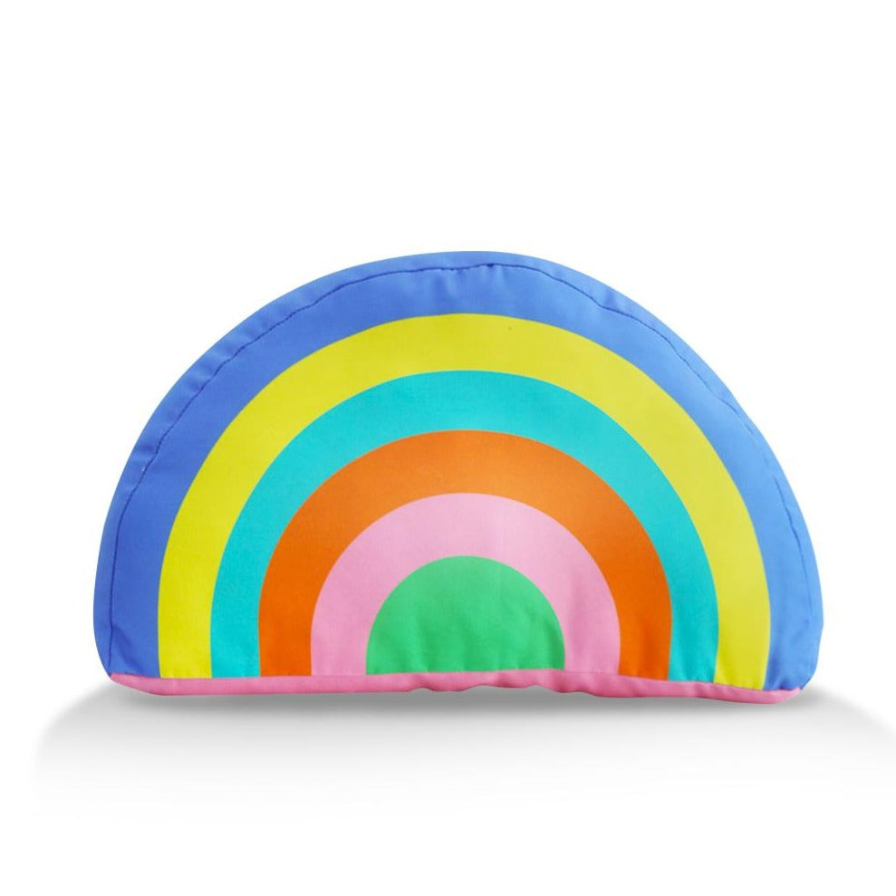 Tiny Things Magical Purple Rainbow Plush Pillow