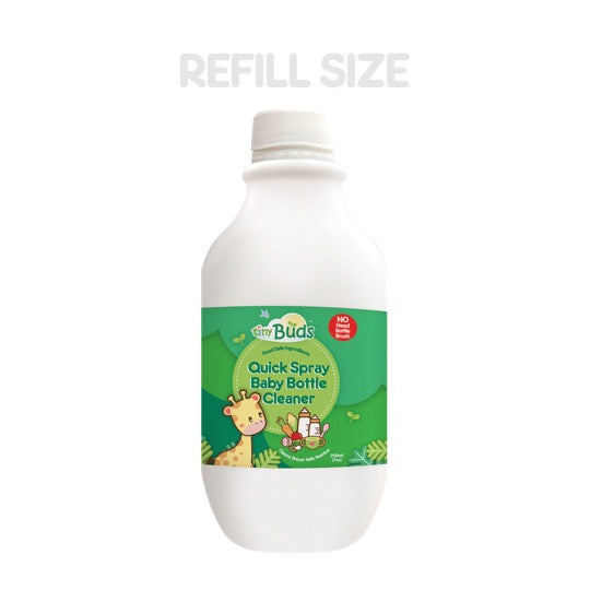REFILL Quick Spray Baby Bottle Cleaner 200ml