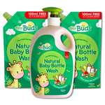 Baby Bottle Wash Set