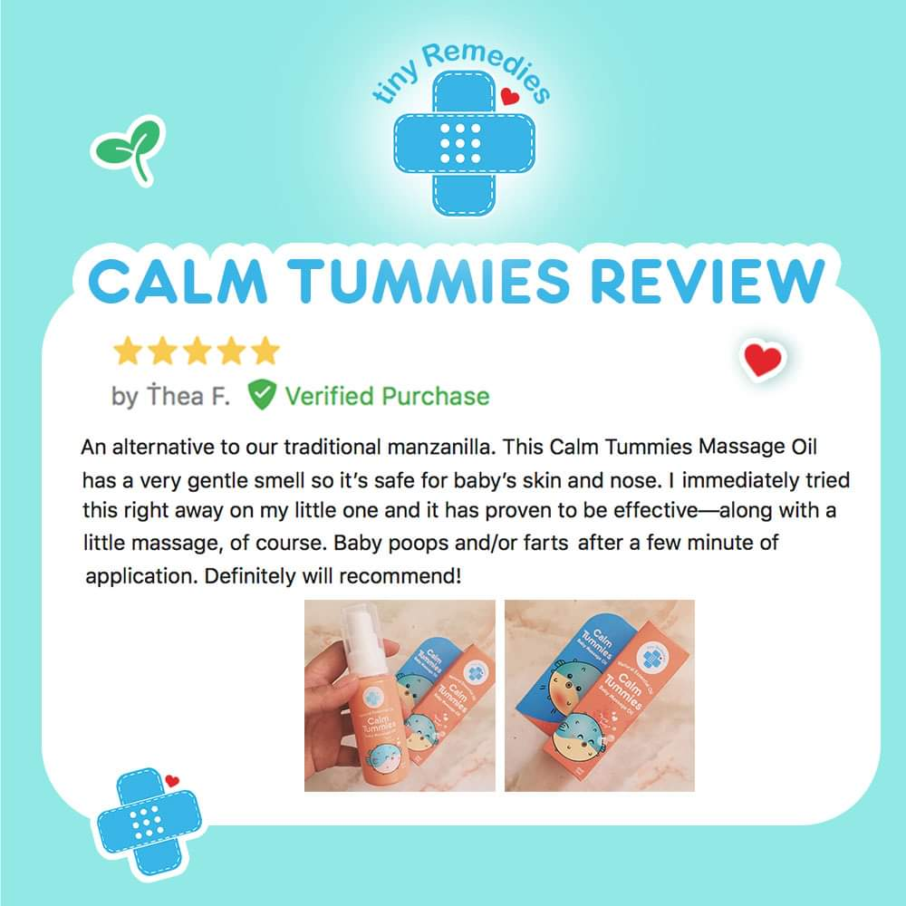 Calm Tummies Anti Colic Massage Oil - PPS