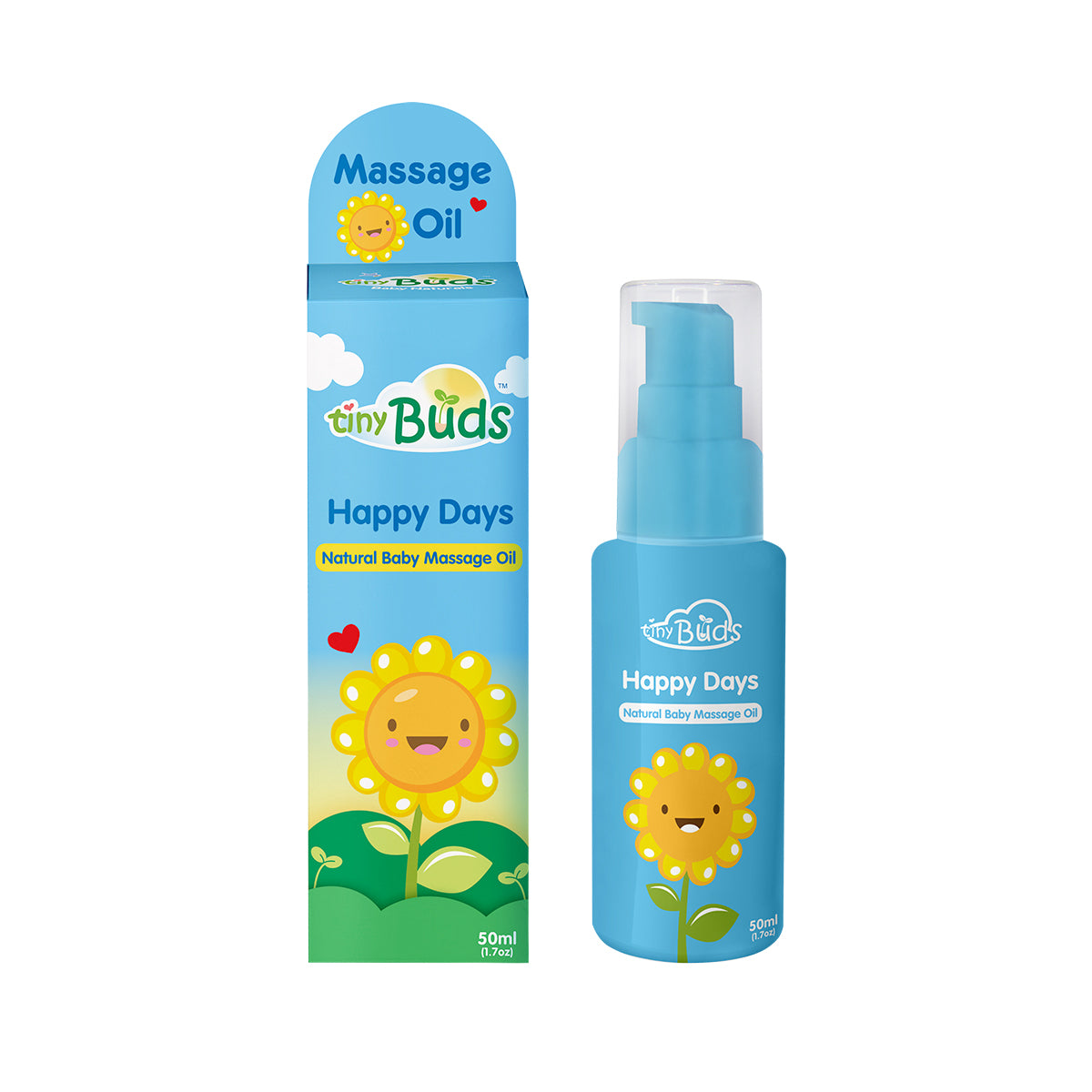 Happy Days Natural Baby Sunflower Oil