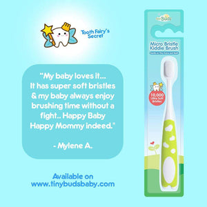 Micro Bristle Toddler Toothbrush - PPS