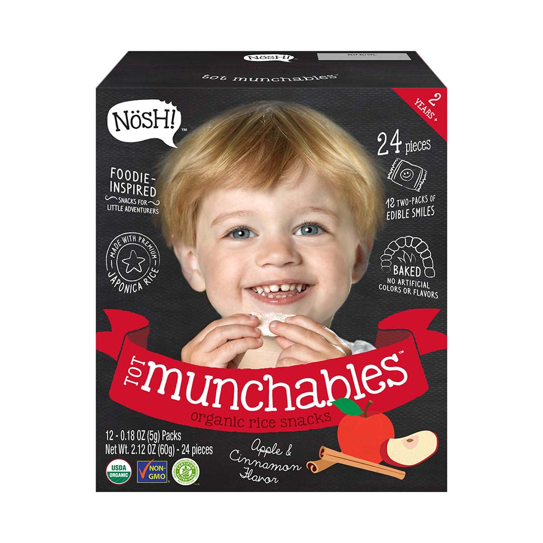 Nosh Tot Munchables Apple Cinnamon