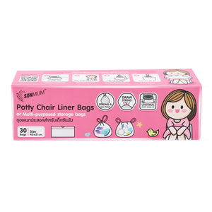 SUNMUM Disposable Potty Chair Bags (30pcs)