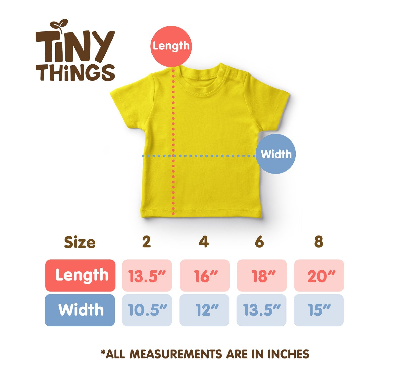 TINY THINGS Save the World Shirts