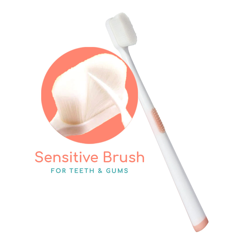 BUDS & BLOOMS Ultra Sensitive Maternity Toothbrush - Peach