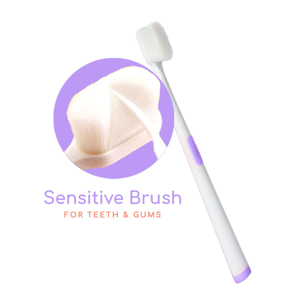 BUDS & BLOOMS Ultra Sensitive Maternity Toothbrush - Lilac