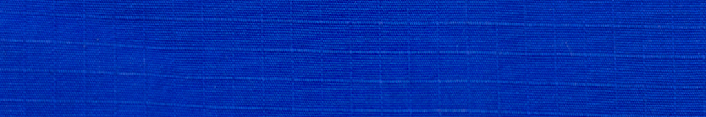 Close up of blue ripstop gi pants fabric