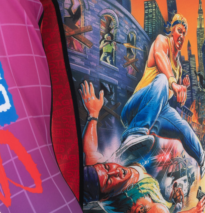 Tatami x Sega Streets Of Rage Rash Guard