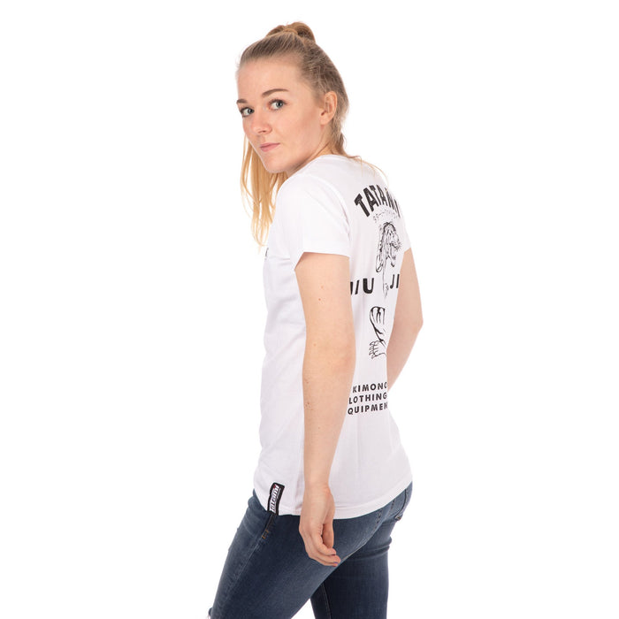 Tatami Ladies Tiger Style T-Shirt - White
