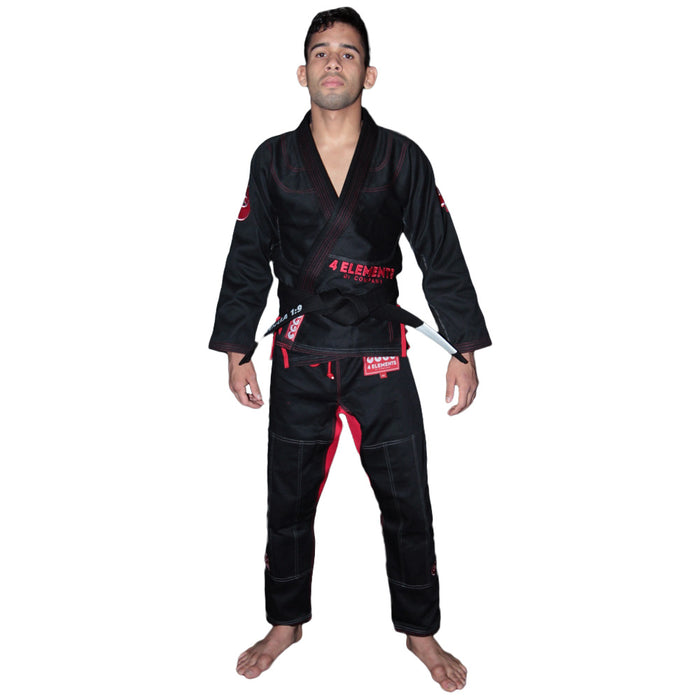 4 Elements Fire Gi Black